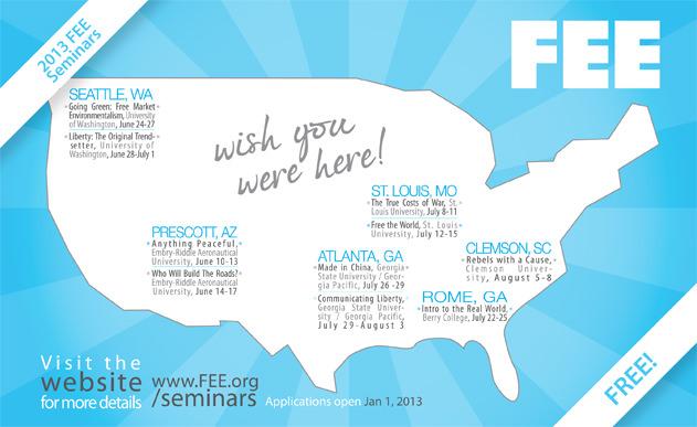 FEE 2013 Seminar Postcard