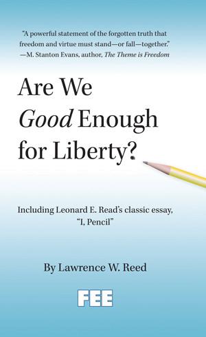 Amostras Fee - Livro Are We Good Enough for liberty - [Recebido] 20130918_AreWeGoodEnoughforLibertyCover
